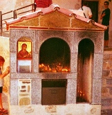 greek miniature church