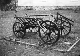 Romanian cart-Slanic Moldova Romania