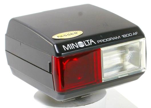 minolta flash