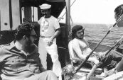 Castro and Che fishing