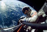 Edwin Aldrin's selfie 1966